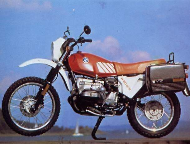 BMW R 80G/S technical specifications